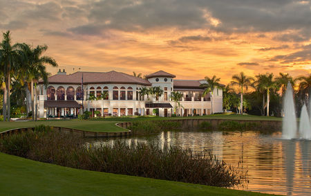 Overview of golf course named Royal Palm Yacht and Country Club