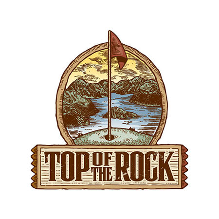 Logo of golf course named Top of The Rock Golf Course