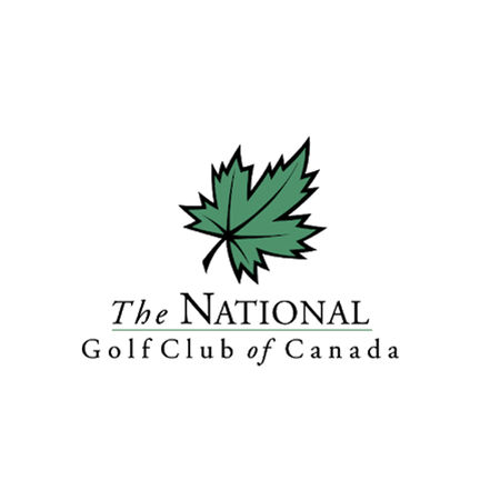 Logo of golf course named National Golf Club of Canada