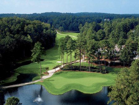Overview of golf course named Reynolds Lake Oconee - The Preserve Course