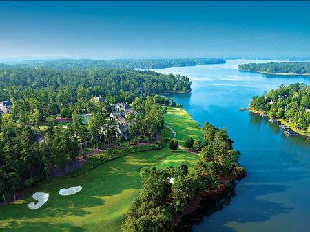 Overview of golf course named Reynolds Lake Oconee - The National Course