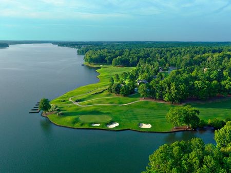 Overview of golf course named Reynolds Lake Oconee - The Landing Course