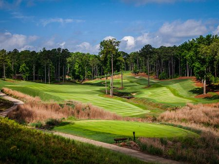 Overview of golf course named Reynolds Lake Oconee - The Creek Club