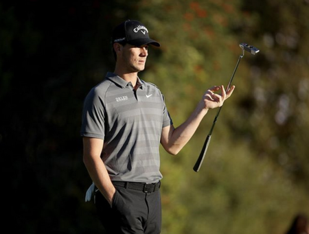 Augusta national golf club thomas pieters checkin picture