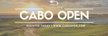 Cover of golf event named Cabo Open
