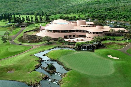 Overview of golf course named King Kamehameha Golf Club