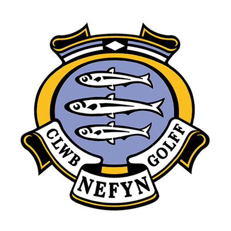 Logo of golf course named Nefyn and District Golf Club