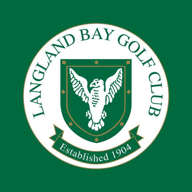 Logo of golf course named Langland Bay Golf Club