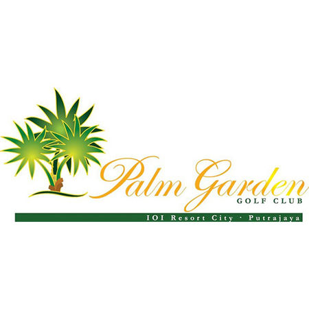 Logo of golf course named Palm Garden Golf Club
