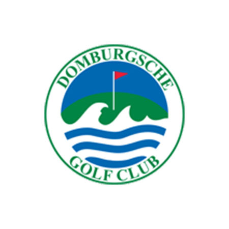 Logo of golf course named Domburgsche Golf Club