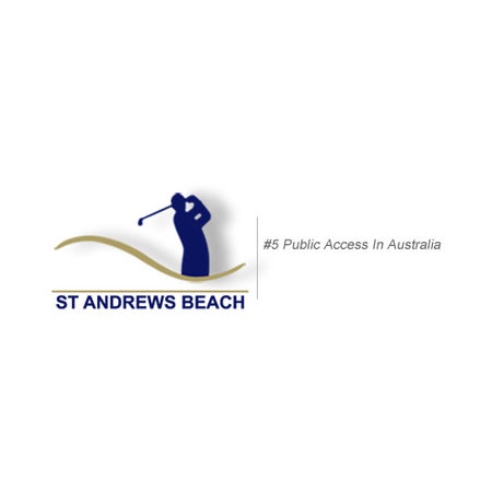 Logo of golf course named Saint Andrews Beach