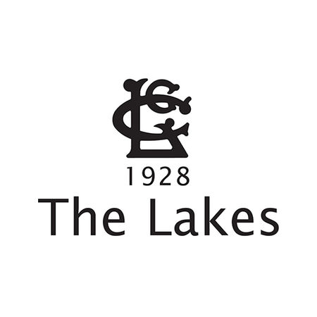 Logo of golf course named The Lakes Golf Club