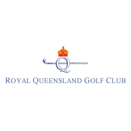 Logo of golf course named Royal Queensland Golf Club