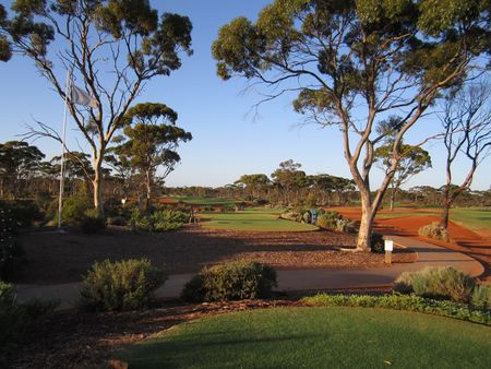 Overview of golf course named Kalgoorlie Golf Course