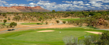 Overview of golf course named Alice Springs Golf Club