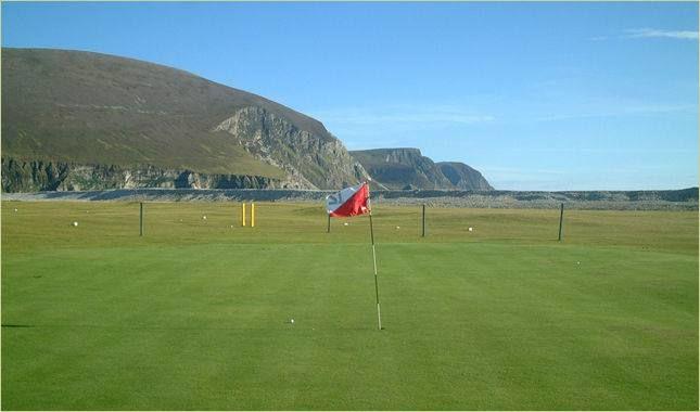 Achill island golf club cover picture