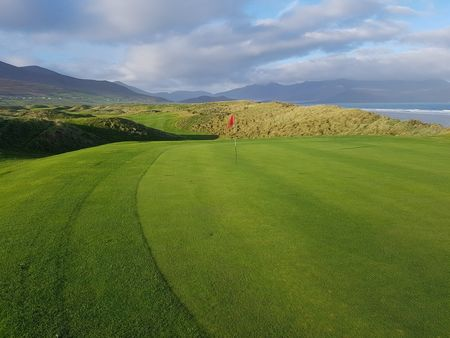Overview of golf course named Castlegregory Golf and Fishing Club