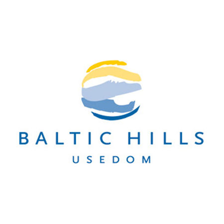Logo of golf course named Baltic Hills Golf Usedom