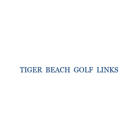 Logo of golf course named Tiger Beach Golf Links
