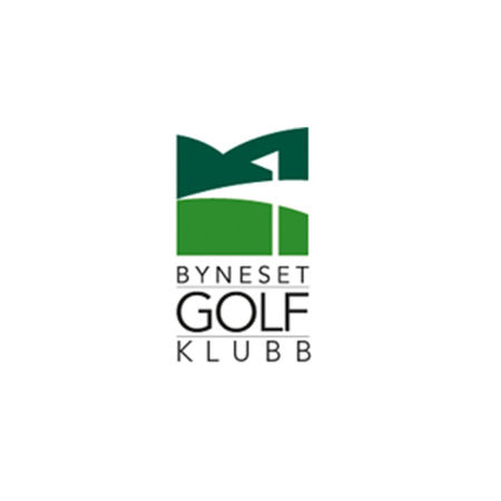 Logo of golf course named Byneset Golfklubb