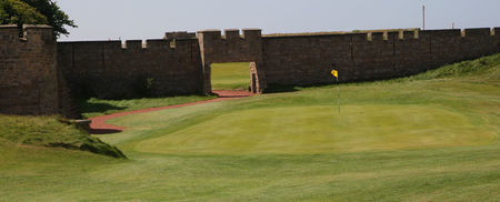 Overview of golf course named Leasowe Golf Club