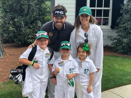 Augusta national golf club louis oosthuizen checkin picture
