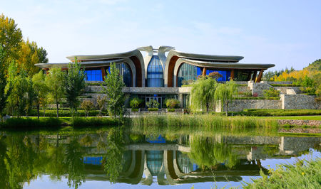Overview of golf course named The Presidential Golf Club at Yanqi Lake