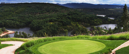 Overview of golf course named Kunming Yulongwan Golf Club