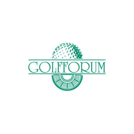 Logo of golf course named Golfforum