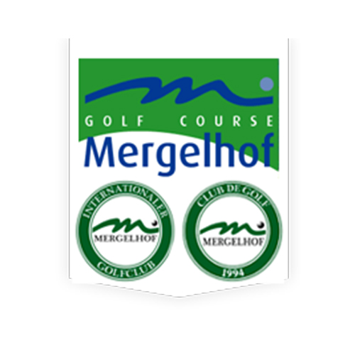 Logo of golf course named Mergelhof Golf Club