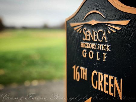 Seneca hickory stick golf course robert trent jones jr checkin picture
