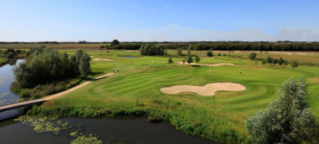 Overview of golf course named Golfbaan de Stok