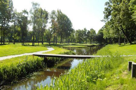 Overview of golf course named Openbare Golfbaan Kralingen