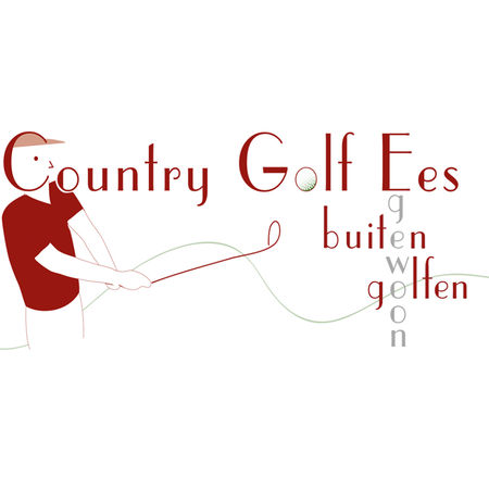 Logo of golf course named Country Golf Ees