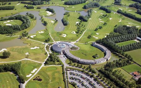 Overview of golf course named Burggolf Purmerend