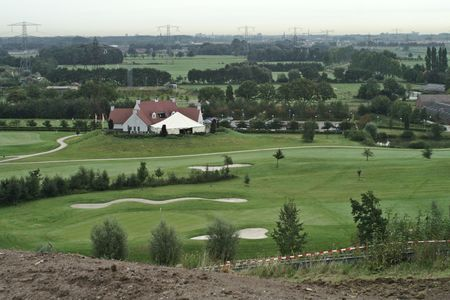 Overview of golf course named Gulbergen Golf Club