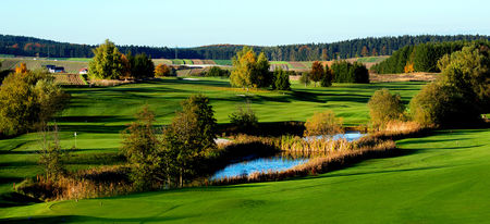 Overview of golf course named Golfclub Ottenstein