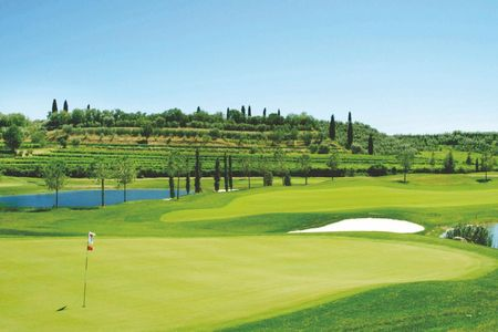 Overview of golf course named Paradiso Del Garda Golf Club