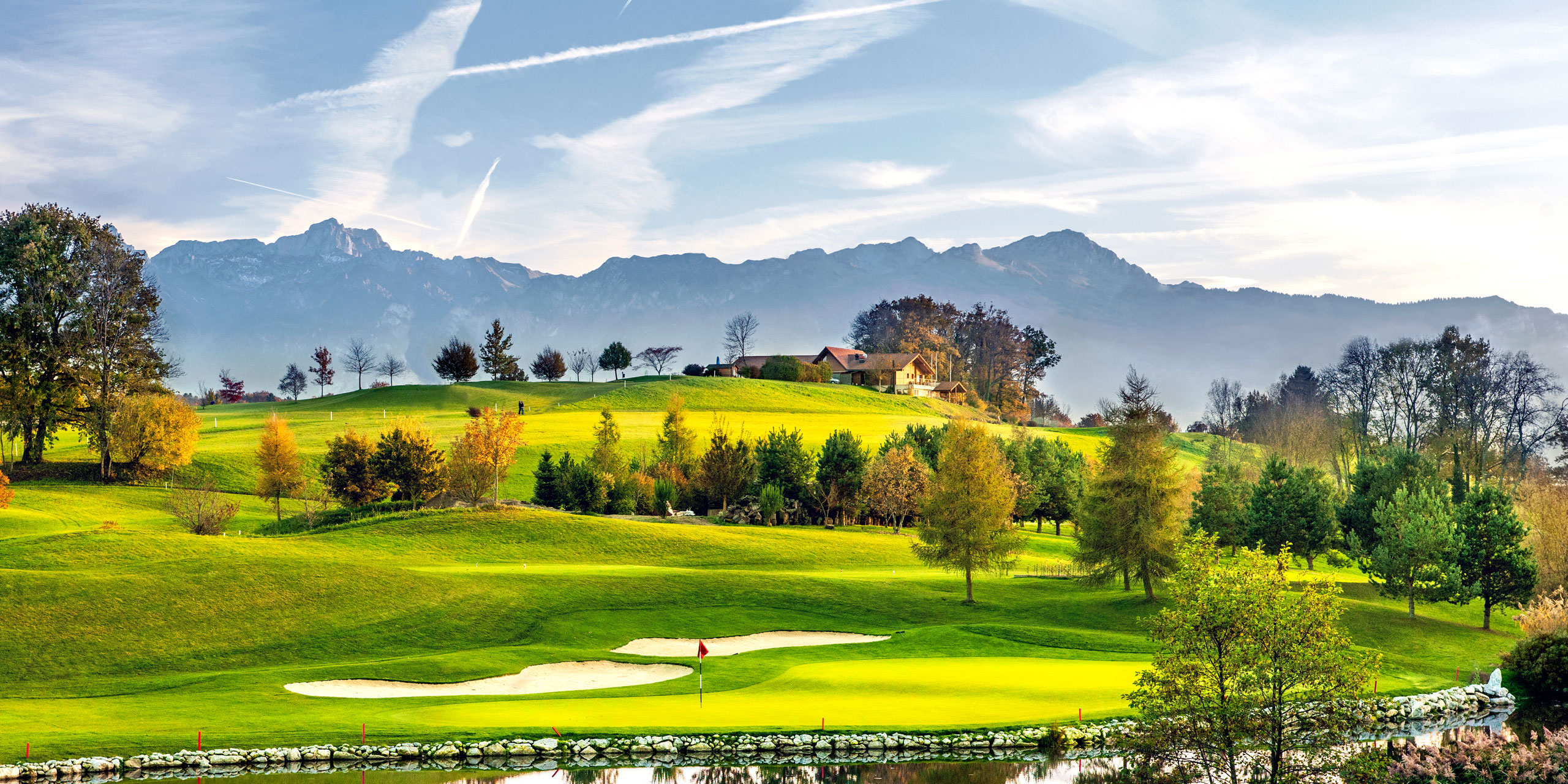 Cover of golf event named Swiss Golf Week