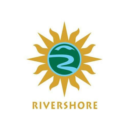 Logo of golf course named Rivershore Golf Links