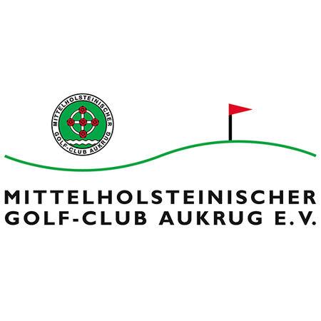 Logo of golf course named Mittelholsteinischer Golf-Club Aukrug e.V.