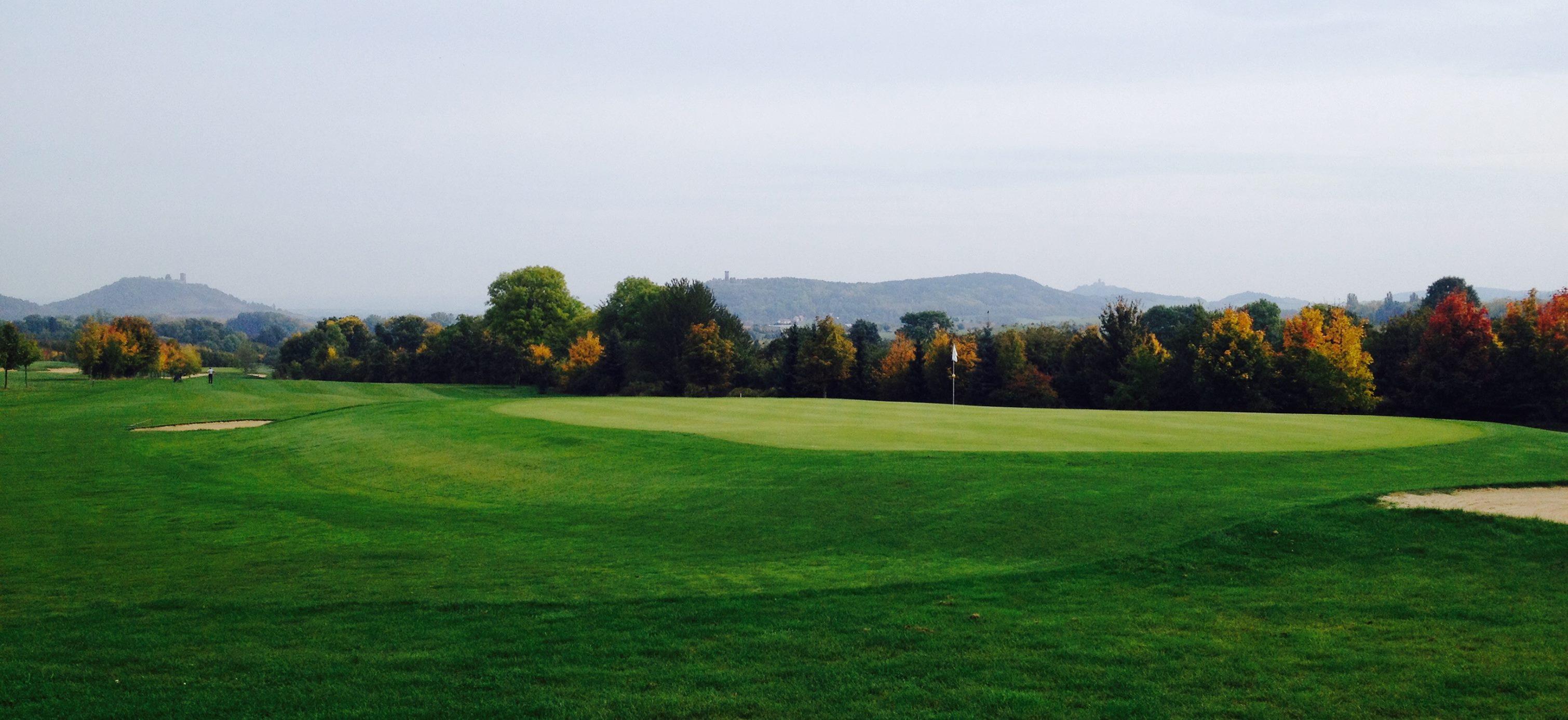 Overview of golf course named Drei Gleichen Golf Club