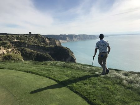 Cape kidnappers golf course julien tizot checkin picture