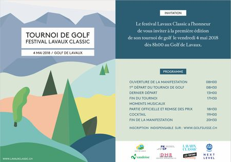 Hosting golf course for the event: Tournoi Festival Lavaux Classic