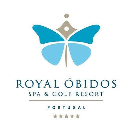 Logo of golf course named Royal Obidos Spa & Golf Resort