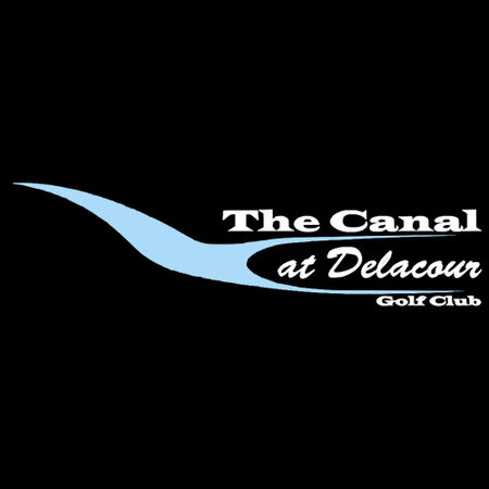 Logo of golf course named The Canal at Delacour Golf Club