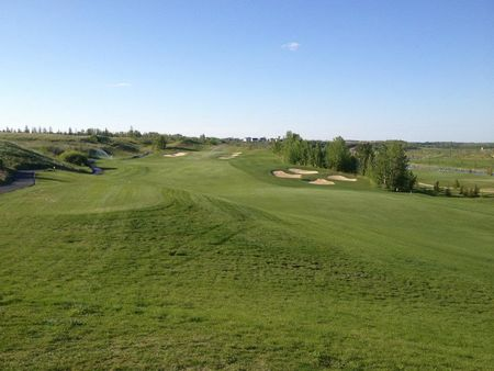 Overview of golf course named The Quarry Edmonton