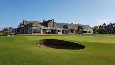 Royal troon golf club stephane castella checkin picture