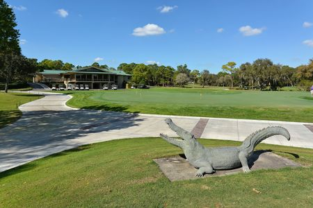 Gator creek golf course cover picture