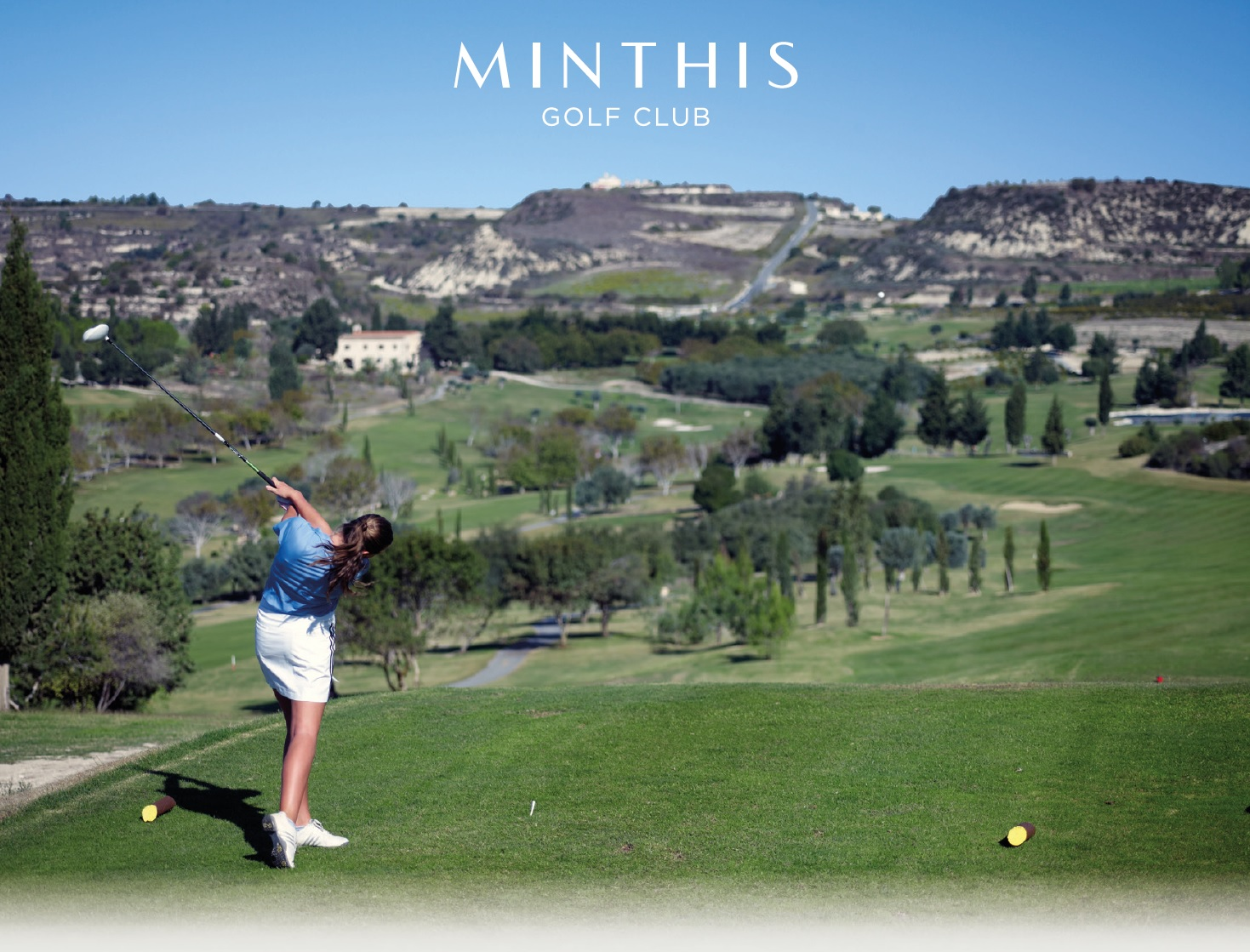 Cover of golf event named WOMEN'S GOLF DAY